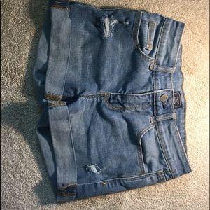 Pants - mid rise shorts